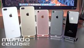 iphone X 8 PLUS 7 PLUS 6S PLUS 6 SE Semi nuevos Garantia TARJETA CREDITO