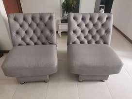 Sillas/sofás auxiliares reclinables
