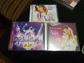 Lote 3 CDs + Dvd Violetta - Como nuevos
