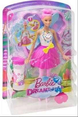 Barbie Dreamtopia Hada Burbujas Mágicas Original Mattel