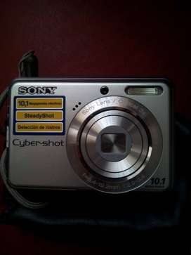 Camara Digital Sony 10.1 Cyber Shot Impecable