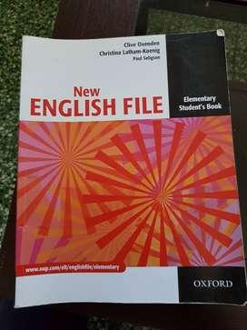 "LIBRO ""NEW ENGLISH FILE"""