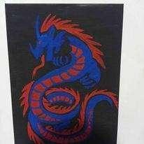 Cuadro de dragón