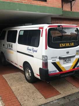 Mucrobus escolar Con contrato de estudiante con valor 3'000.000 mensuales
