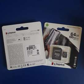 MEMORIA MICRO SD KINGSTON 64G CLASE 10