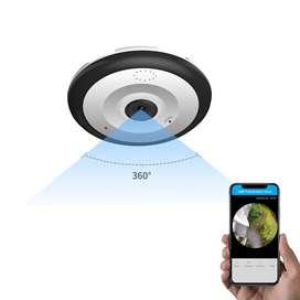 Camara Panoramica 360 Hd 1080p Wifi Vigilancia VA&C TEGNOLOGY BOGOTA D.C380 Pro