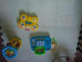 Combo de juguetes