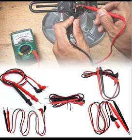 Multímetro Digital Universal, probador de cables de prueba, Pin, punta de aguja, Cable de lápiz de sonda de plomo, Kit p