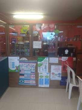 Venta Café Internet, Cabinas Telefónicas, Papelería.