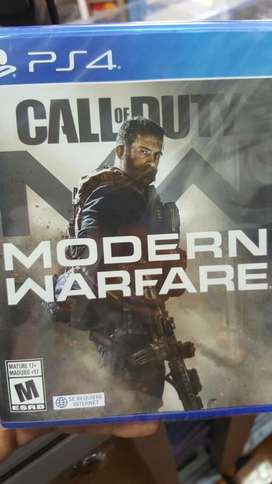 Call Of Duty Modern Warfare Playstation4