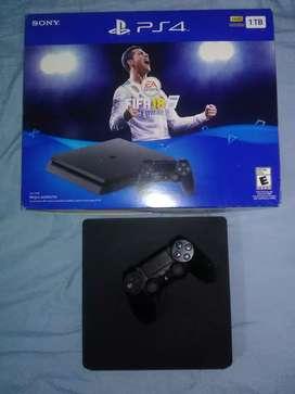 Vendo PS4 DE 1TB CON FIFA20