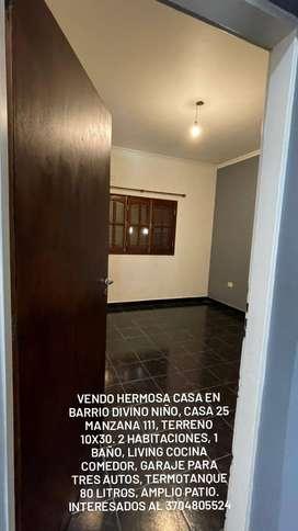 Se vende casa en Formosa