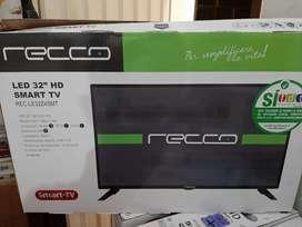 Led 32 Recco smart tv garantia 2 años