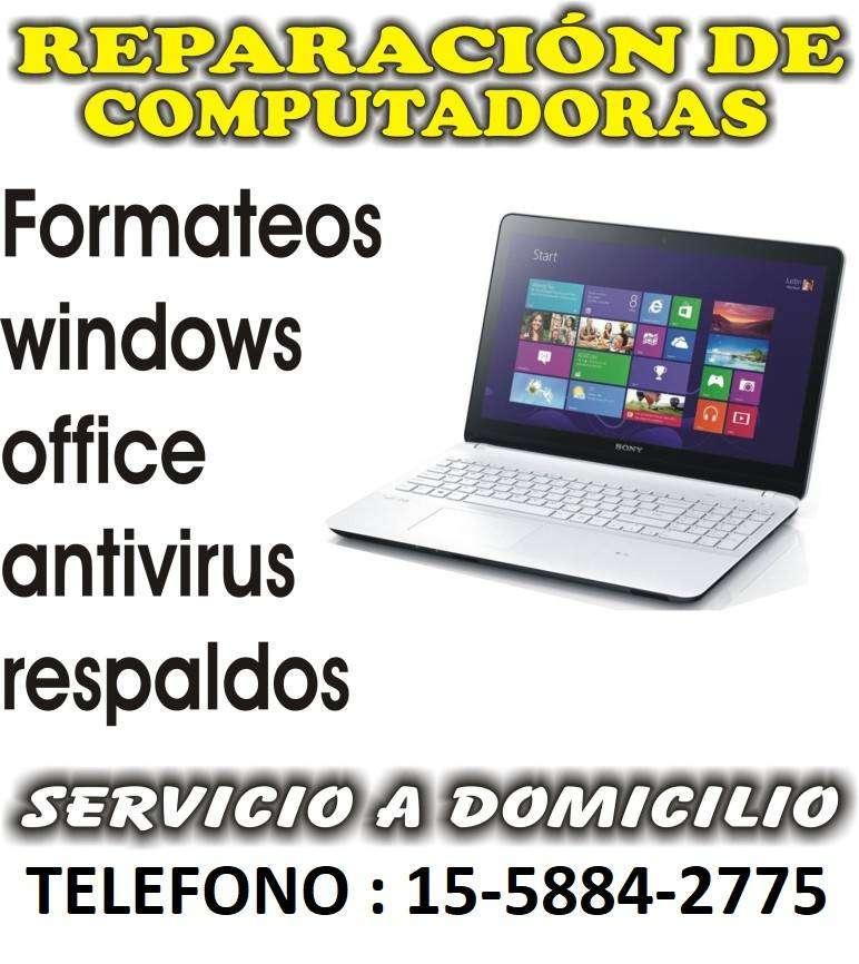 LINIERS - REPARACION DE COMPUTADORAS A DOMICILIO EN LINIERS