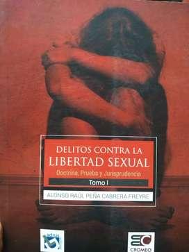 Libro Delitos Contra la Libertad Sexual (original)
