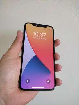 Iphone X color blanco 64gb