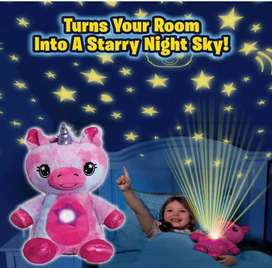 Peluche con proyector led