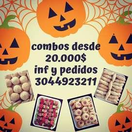 Picadas para fiestas y eventos (Halloween)