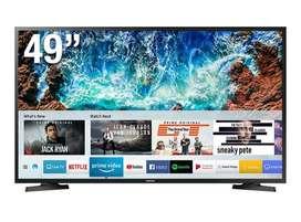 """Televisor 02  SAMSUNG LED 49"""" FHD Smart TV 1280 c/u soles nuevo en caja sellados."""