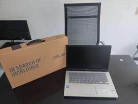 PORTATIL NUEVO ASUS X409MA CELERON N4020 / DISCO 1TB / MEMORIA 4GB PANTALLA 14 HD COLOR SILVER