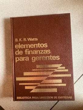 LIBROS DE FINANZA O GERENCIA USADOS