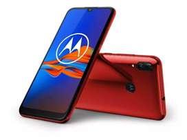 Celular Motorola e6 plus color cherry