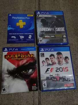 Juegos PS4 y plus económicoo