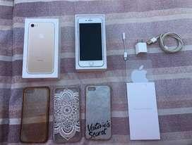 Iphone 7 32gb gold, en buen estado