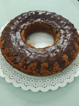 TORTA DE CIRUELAS NUECES Y CHOCOLATE
