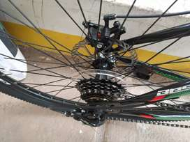 Bicicleta totalmente nueva