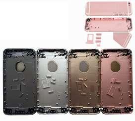 Tapa Trasera Carcasa Bateria Iphone 6S 6S Plus 6 6 Plus Iphone 5 Botones Porta Sim