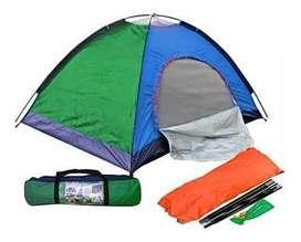 Carpa Camping Para 4 Personas Facil Armar Acampar  - Realizamos envios inmediatos  - Carpa Camping Para 4 Personas Faci