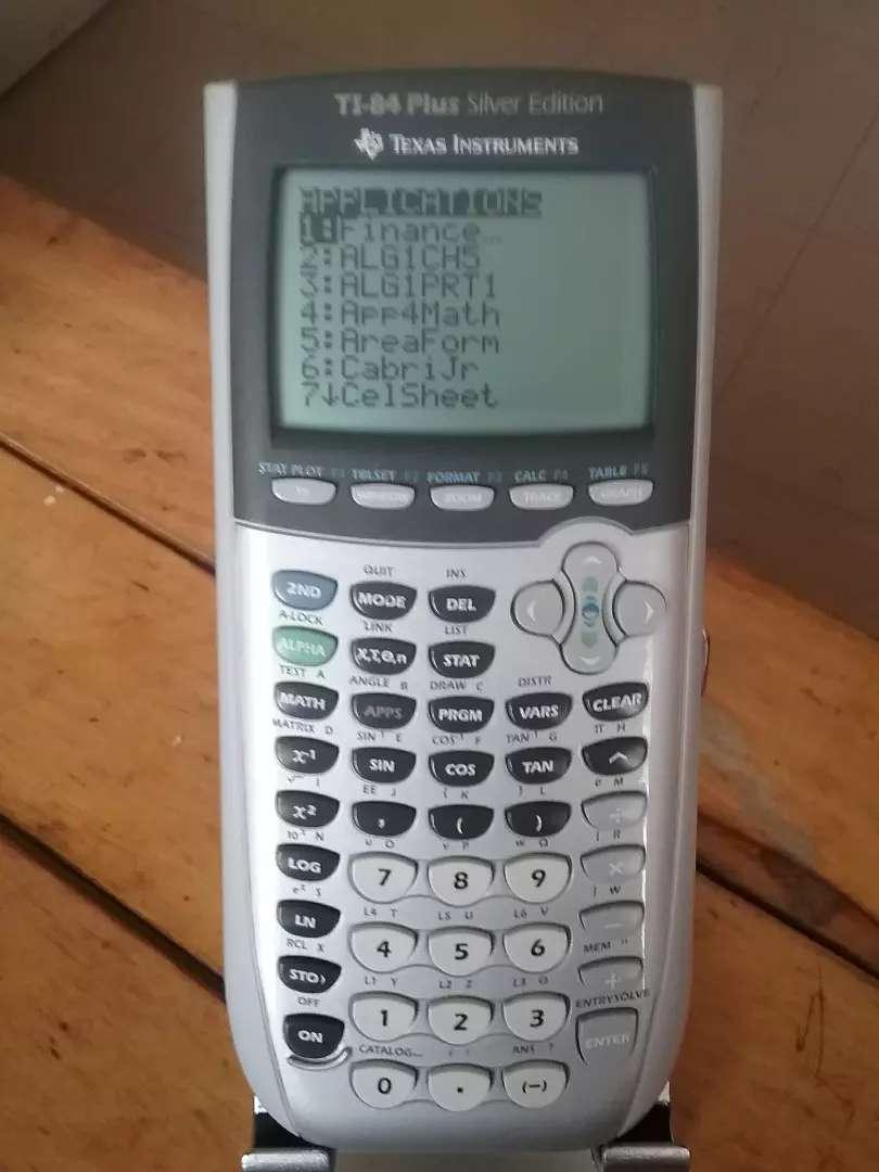 Texas ti-84 Plus Silver Edition calculadora programable graficadora estadísticas y probabilidad 0