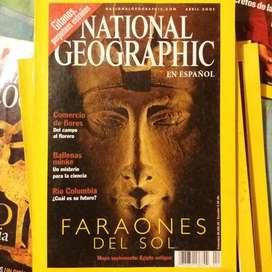 Revistas National Geographic (Nat Geo)
