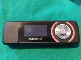 MP3 MASTER G de 4GB