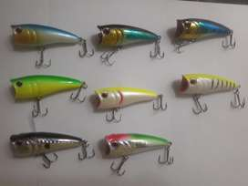 señuelos de pesca topwater Popper