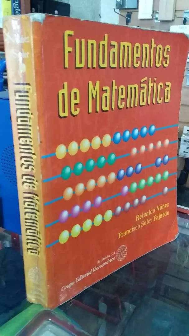 Fundamentos de matemáticas de Reinaldo Núñez 0