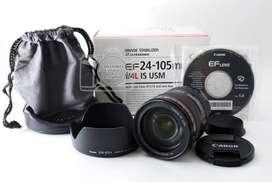 Canon EF 24-105 mm f / 4L IS USM - NUEVO-