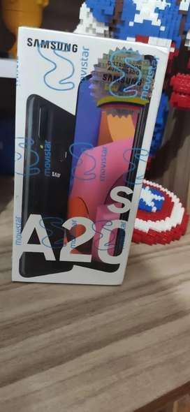 Samsung a20s nuevo de paquete