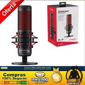 Hyperx Quadcast Microfono Profesional Gaming Usb Blue Yeti X