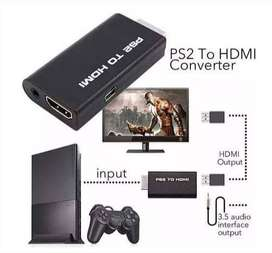Conecta Playstation 2 por hdmi