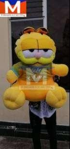 Peluche Garfield De 1.50m Ideal Para Regalos