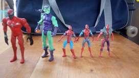 3 Spiderman 1 Venom Y 1duendeverde