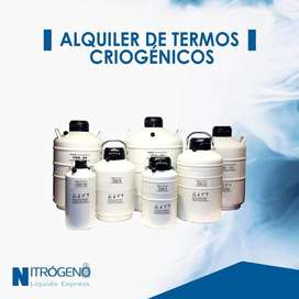 Alquiler de termos criógenicos nitrógeno líquido