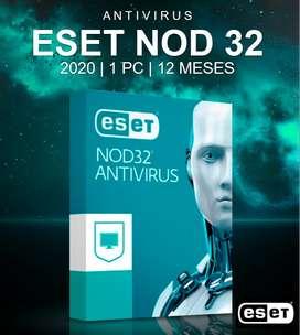 Eset Nod32 Antivirus, Internet Security 1PC por 1 Año ORIGINAL - Windows  7, 8, 10 (PROMOCIÓN Hoy 30 Soles)