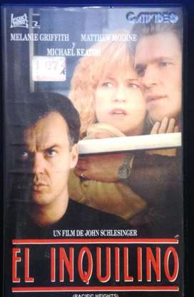 Vhs - El Inquilino - Michael Keaton - Melanie Griffith