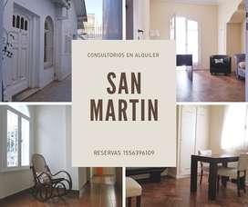 Alquiler de consultorios en San Martín