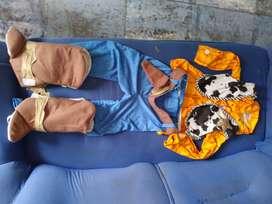 Diafraz baquero boody toy story niño de 5 a 6 años
