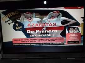 CURSO AZAFATAS DE PRIMERA PRESENCIAL EN GUAYAQUIL
