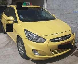 Cedo derechos y acciones de un taxi